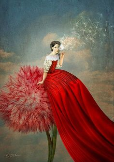 Digital collage by Catrin Welz-Stein - German graphic designer inspired by a dreamy, dynamic mix of children's illustration, classic surrealism, and vintage imagery Surrealism Painting, Pop Surrealism, Art Du Monde, Imagination Art, Arte Pop, Pics Art, Whimsical Art, Surreal Art, Belle Photo