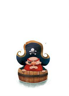 Pirata de la sonrisa al revés