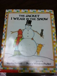 Speech Time Fun: The Jacket I Wear In The Snow: Story Companion Activity Pack!-address many speech and language skills! Pinned by SOS Inc. Resources. Follow all our boards at pinterest.com/sostherapy/ for therapy resources.