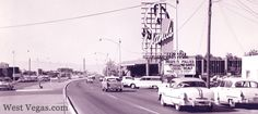 1963 view of the Strip looking northward