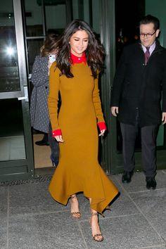 Selena Gomez's Dress Says a Lot About Her Fashion Week Agenda