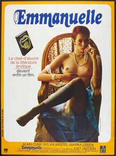 Emmanuelle (1974)   #movies #films #SylviaKristel #hr #posters #70s