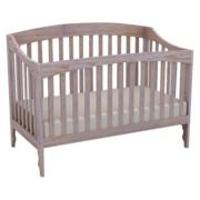 $479 Lolly & Me Sawyer 4-in-1 Convertible Crib - Driftwood Whitewash