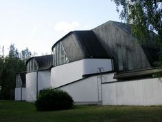 Church of the Three Crosses, Vuoksenniska near Imatra, Finland, 1957-9 | Alvar Aalto