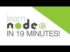 Node.js tutorial for beginners This video is an introduction to Node js using the Express.js framework.  Nodejs is a powerful web framework that makes web development a breeze.  You'll be making an app in no time!
