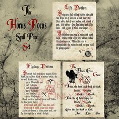 Grimoire Spell Herbs magic witch and Book of Shadows Halloween Spells, Halloween Books, Halloween Night, Holidays Halloween, Halloween Crafts, Halloween Costumes, Halloween Stuff, Halloween Party, Halloween Table