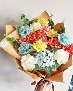 "12 Likes, 1 Comments - PAPER FLOWER - CLAY ART (@binkybooandfriends) on Instagram: ""selamat hari kartini ♡ • • • #jualbungakertas #bungakertasbandung #paperflower #jualpaperflower…"""
