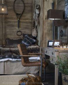 Interior decor and furniture Chalet Design, House Design, Chalet Interior, Interior Decorating Styles, Rustic Room, Lodge Style, Furniture Design, Log Homes, Vintage