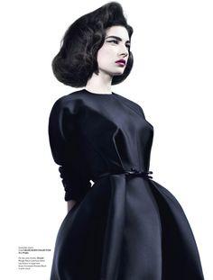 Jacquelyn Jablonski, by Willy Vanderperre for V Magazine, Summer 2010