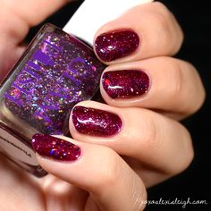XOXO Alexis Leigh: Glam Polish Supernatural Collection Swatches & Review // Nails