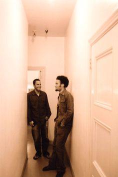 Ben Harper and Jack Johnson