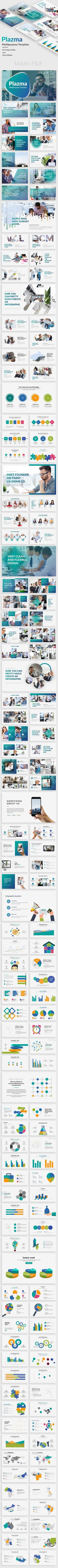 Plazma - Multipurpose Premium Powerpoint Template - 153 Unique Slides