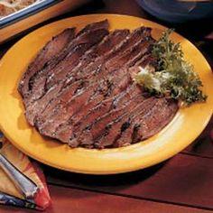 Italian Flank Steak Recipe | Taste of Home Recipes