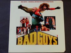 """Bad Guys - Original Motion Picture Soundtrack - """"Soul Man""""  """"Hold On, I'm Coming"""" - Polygram 1986 Promo Copy - Vintage Vinyl LP Record Album by notesfromtheattic on Etsy"""