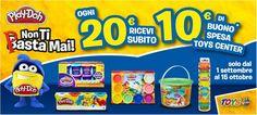 Spendi 20€ in prodotti  Hasbro Play-Do ed hai un buono da 10€ da Toys Center