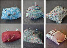 Petits coussins pour piquer vos aiguilles #cushion #pillow #homemade #handmade  #indoor #lifestyle