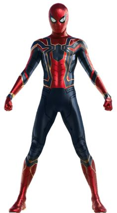 Spiderman Avengers Infinity War Iron-Spider Suit Transparent Background Version 2 Final Version Feel free to use any of my rende. Marvel Comics, Marvel Art, Marvel Heroes, Marvel Avengers, Spiderman Suits, Spiderman Art, Amazing Spiderman, Spiderman Dress, Spiderman Civil War