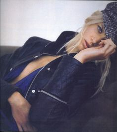 Beautiful Jayne Moore for Elle Sweden Magazine