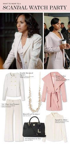 What To Wear To A Scandal Watch Party and Pull It Off Like Olivia Pope