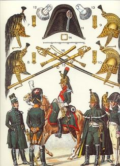 Empress Dragoons of the imperial guard