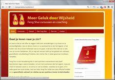 Meer Geluk door Wijsheid - Feng Shui (website door Vlot & Goed)