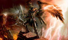 Belial: Seu nome deriva do hebraico e significa Rebelde, Profano, O Desprezível e/ou Desobediente. É um anjo destruidor. Comanda as forças infernais contra as forças de Deus e é tido como o mais importante príncipe dos infernos, braço direito de Lúcifer, possuindo ao seu dispor oitenta legiões de demônios. Ele é responsável pelo pecado, orgulho, arrogância e pelo bando de loucos.