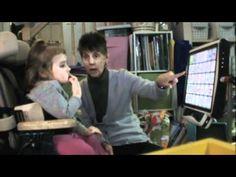 Cammy Can using the Tobii C-15 eyegaze - YouTube