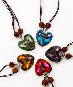 Orgonite Hearts.... these are cool