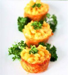 Mini Mac + Cheese Pies | 19 Easy and Delicious Appetizers For Thanksgiving Day | Disney Baby