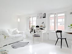 UN ATICO BLANCO Y LUMINOSO / WHITE AND LUMINOUS ATTIC | DESDE MY VENTANA