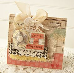 Life is an adventure card