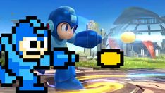 MegaMan and MegaMan | 16 Video Game Characters Posing With The Old Versions Of Themselves
