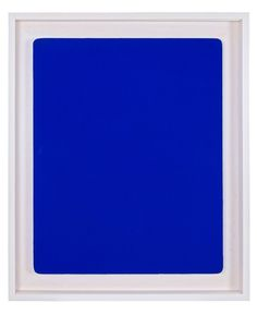 Untitled Blue Monochrome (IKB 241)