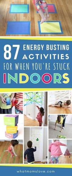 87 Energy-Busting Indoor Games & Activities For Kids (Because Cabin Fever Is No . 87 Energy-Busting Indoor Games & Activities For Kids (Because Cabin Fever Is No Joke) Games For Kids Classroom, Camping Activities For Kids, Indoor Activities For Toddlers, Rainy Day Activities, Preschool Games, Camping Games, Camping Ideas, Baby Activities, Summer Activities