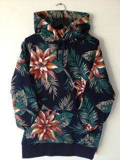 DELICIOUS tropical print hoodie