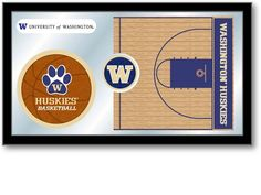 Washington Huskies Basketball Sports Team Mirror at SportsFansPlus.com. Visit website for details!