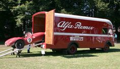Alfa Romeo Race Truck