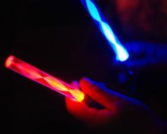 Pocket  Star Wars Light Saber Blue Red Keyring Torch Fun Party Bag Fillers