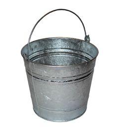 10 Litre Galvanised Metal Bucket - Indoor & Outdoor use: Amazon.co.uk: Garden & Outdoors