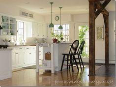 My Kitchen Upgrade Cottage Kitchens, Country Kitchens, White Cottage, Cottage Style, Kitchen Upgrades, Kitchen Ideas, Cape Cod Kitchen, Ideas Dormitorios, Ohio