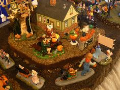 lemax halloween miniature villages   Recent Photos The Commons Getty Collection Galleries World Map App ... Halloween Fairy, Halloween Ideas, Halloween Village Display, Lemax Christmas, Lemax Village, Halloween Miniatures, Fall Pictures, Fall Harvest, Thanksgiving
