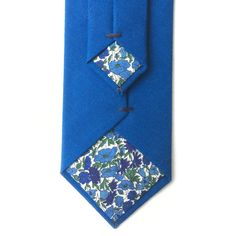 A personal favourite from my Etsy shop https://www.etsy.com/uk/listing/524416183/bright-blue-tie-with-liberty-print
