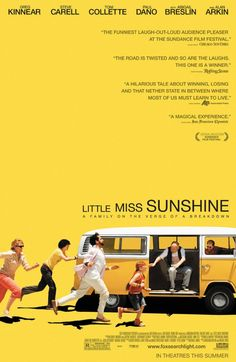 Little Miss Sunshine - quirky, weird, indie, bizarre. Those are words that can all define this movie. It's funny, it's weird, it's cute. But overall, it is good. VERY good. It is not a movie for everyone. Nonetheless, I think everyone in the whole world should give it a try. 8/10