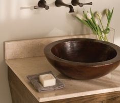 Copper sink: good design