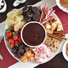DESSERT FONDUE - Gather round the table with your fondue and enjoy the conversation and time spent with those that help you enjoy your journey.