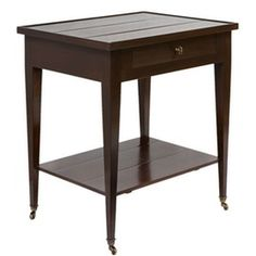 Byron Night Table  Traditional, Wood, Side  End Table by Andrew Law Interior Design