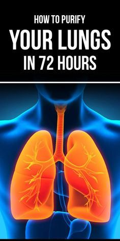 Purify your lungs in 72 hours. It is very easy to purify your lungs. Here are some of the effective ways.