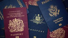 """How """"powerful"""" is your passport? One company has ranked each of the world's passports to find which one can get you into the most countries without applying. Passport Form, Passport Renewal, Passport Online, Stolen Passport, Passport Documents, Passport Services, Fake Dollar Bill, Apply For Passport, Getting A Passport"""