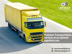 Leeway believes in extending its capabilities and also offers value added transportation services such as Route Optimization, Freight Optimization, Specialized Vehicles Design, Customized Packaging, Cross Docking, Just-in-time Supply Chain and a Transport Management System.  For more info visit us on www.leewaylogistics.in