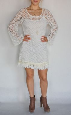 Bodycon Crochet Dress